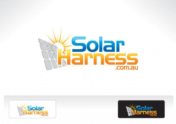 Solar Harness Logo Design Klik Creative